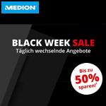 MEDION Black Week Sale – Spare bis zu 50% mit täglich wechselnden Angeboten