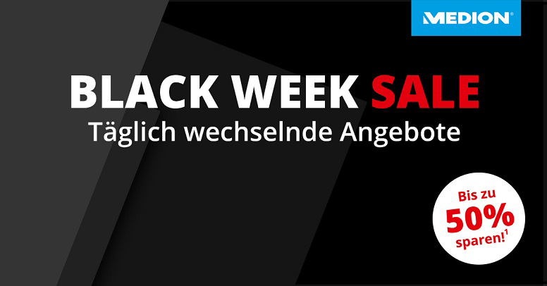 MEDION Black Week Sale 2020