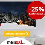 Erhalte jetzt zusätzlich 25% Extra-Rabatt auf alle bestehenden Angebotspreise auf meinXXL.de