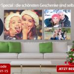 Spare zum Black Friday bis zu 91% beim Profi für bedruckte Leinwände meinxxl.de!