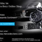 Exklusiv bis Sonntag 15% Rabatt auf das gesamte Sortiment von Mercedes Benz