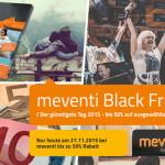 30% Black Friday Bonus auf die Hotelbox und auf Wertgutscheine bei Meventi!