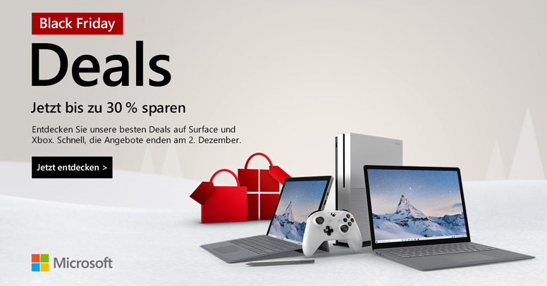 Microsoft Black Friday 2019