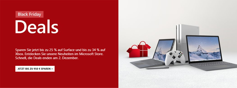 Microsoft Black Friday Deals 2019