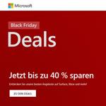 Black Friday im Microsoft Store – Jetzt zugreifen und bis zu 40% sparen