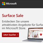 Spare jetzt auf ausgewählte Surface Konfigurationen im Microsoft Store