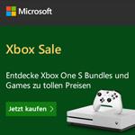 Xbox Sale bei Microsoft: Entdecke Xbox One S Bundles und Games zu tollen Preisen
