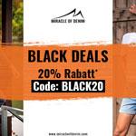 Black Deals bei Miracle of Denim – Jetzt bis zu 20% sparen!