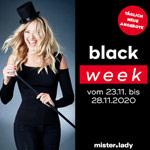 Spare 20% auf täglich wechselnde Sortimente bei der mister*lady Black Week!