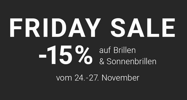 Mister Spex Friday Sale 2017