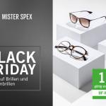 Mister Spex Black Friday 2015: 12% Rabatt auf Brillen und Sonnenbrillen!