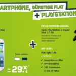 Gratis Playstation 3 mit Samsung Galaxy S3 mini und Flat-Tarif für mtl. nur 17,91 Euro + 10 Euro Startguthaben