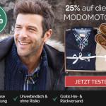 25% geschenkt auf deine erste MODOMOTO Box*