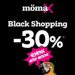 Black Shopping bei mömax. 30% Rabatt beim Kauf eines Möbelstücks deiner Wahl