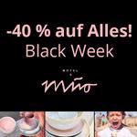 40% Rabatt auf alle Keramik Artikel bei Motel a Miio
