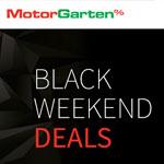 Spare bis zu 50% auf ausgewählte Produkte mit den Black Weekend Deals bei MotorGarten!