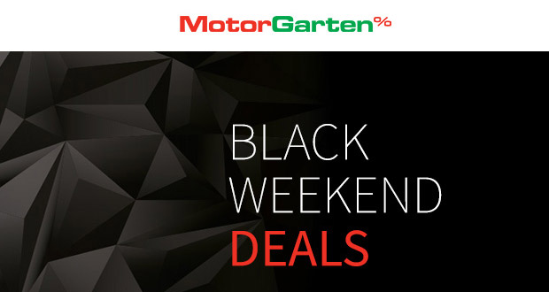 MotorGarten Black Weekend Deals 2017