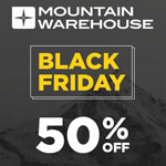 Jetzt sparen mit den tollen Angeboten zum Black Friday bei Mountain Warehouse