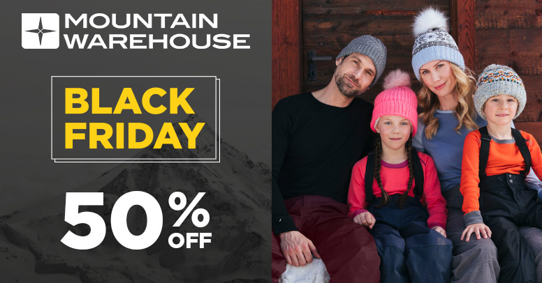 Mountain Warehouse Black Friday 2019
