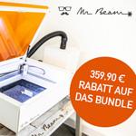 Einmaliges Angebot: 359,90 Euro Rabatt auf das Mr Beam II dreamcut Bundle