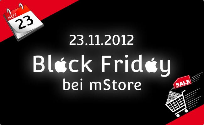 mStore: Black Friday eröffnet die Jagd auf Weihnachtsgeschenke