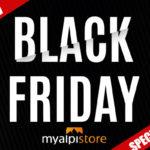 MyAlpistore feiert den Black Friday mit zahlreichen Sonderkonditionen auf Topmarken.