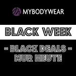 Jetzt neue Unterwäsche shoppen und mit den Black Week Angeboten von Mybodywear kräftig sparen