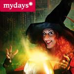 25 Euro Halloween Rabatt bei mydays