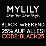Black Weekend bei MILILY – Sicher dir jetzt 25% Rabatt auf alles