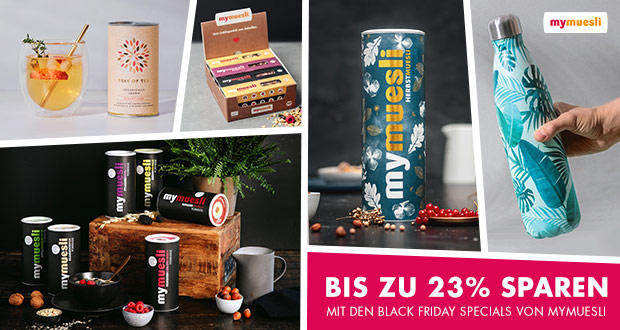 mymuesli Black Friday 2018