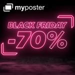 myposter Black Friday Angebote mit bis zu 70% Rabatt
