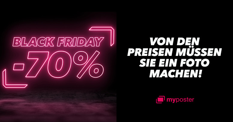myposter Black Friday 2020