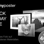 Der myposter Black Friday 2015! Bis zu 40% Rabatt auf Fotoprodukte.