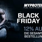 Nur heute: Myprotein bietet 12% Rabatt auf die gesamte Bestellung!