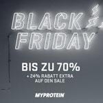 Doppelt sparen mit Myprotein – Sicher dir den 24% Extra Rabatt auf Produkte mit 70% Preisnachlass!