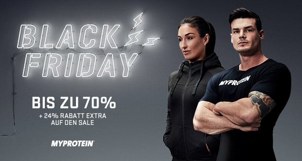 Myprotein Black Friday 2017