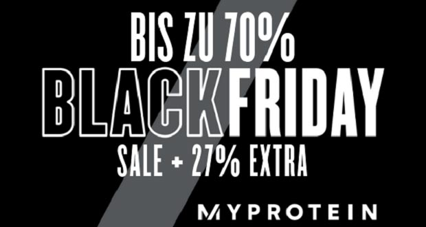 Myprotein Black Friday 2018