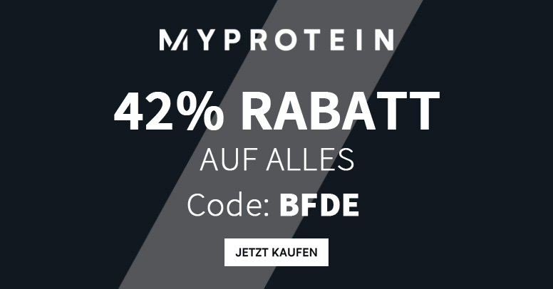 Myprotein Black Friday 2019