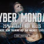 CYBER MONDAY 25% Rabatt auf ALLES bei MyProtein!