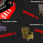 Drei exklusive Black Friday Möbeldeals made by Mysofa!