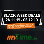 Die myTime.de Black Week Deals – Jetzt bis zu 30 % sparen!