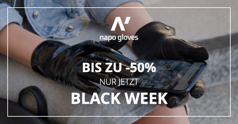 Napo Gloves Black Friday 2020