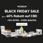Black Friday bei Naturecan – Spare bis zu 40% auf CBD & mehr
