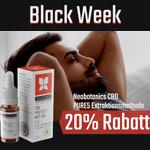 Black Week: Neobotanics® CBD-Öle jetzt 20% günstiger