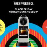 NESPRESSO Black Friday Deal für Neukunden: Sicher dir 40% Rabatt auf alle Nespresso CitiZ Modelle!