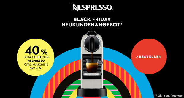 Nespresso Black Friday 2017