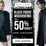 Style hält für immer, Cyber Week nicht – Sicher dir jetzt bis zu 50% Rabatt bei New Look!