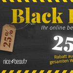 25% Rabatt auf Beautyprodukte und Zubehör bei NiceBeauty