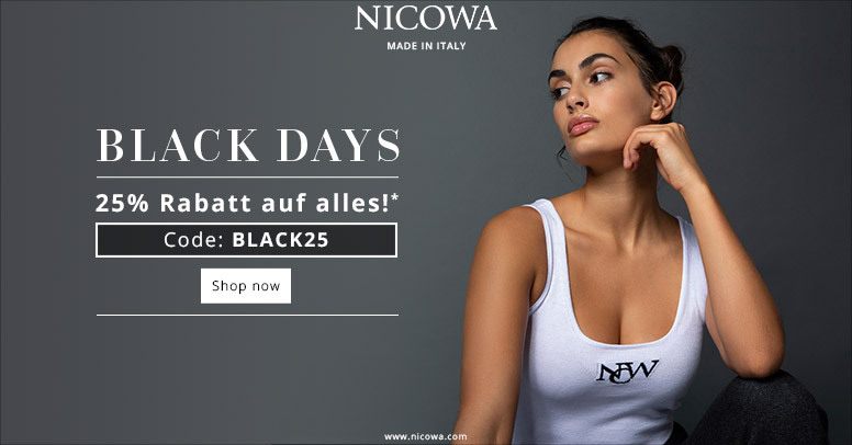 Nicowa Black Friday 2020