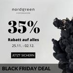Nordgreen Black Friday Deal – Sicher dir jetzt 35% Rabatt auf alles!